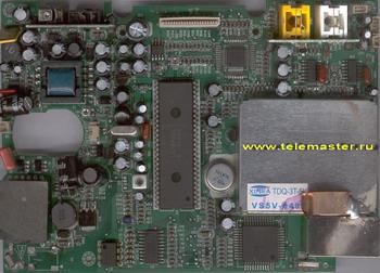 Переносной телевизор ореол в холодильнике электрическая и принципиальная схема.